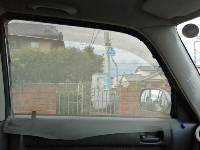自動車用網戸